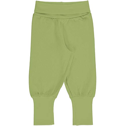 Maxomorra Baby Rib Pants Solid PEAR 62/68