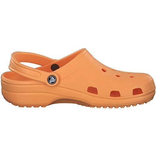 Crocs Unisex Men's and Women's Classic Clog (Retired Colors), Cantaloupe, 8 US