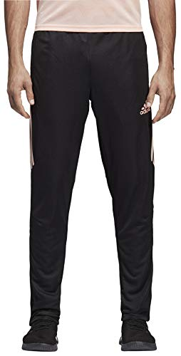 adidas Men's Soccer Tiro 17 Training Pant, Black/Haze Coral, X-Large