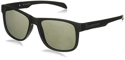Foster Grant Men's Ramble Sunglasses, Black, 158 mm