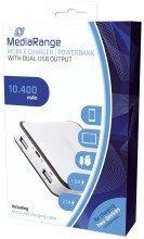 Mobile Charger | Powerbank 10.400 mAh mit 2 USB-Anschlssen