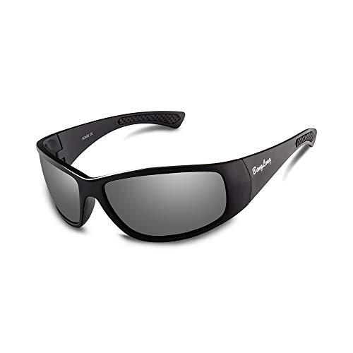 BangLong Gafas de Sol Polarizadas, UV400 Protección Gafas de Sol para Hombres Mujeres Ciclismo Gafas deportivas Gafas de Conductor Actividades al Aire Libre Conducción Pesca Correr Senderismo Deportes