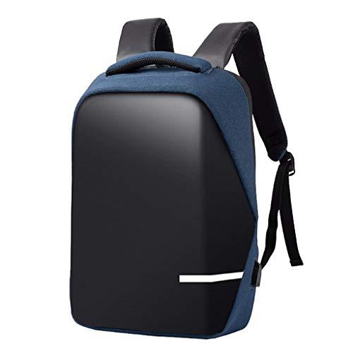HSKB Rugzak voor heren, premium anti-diefstal, voor op reis, waterdichte rugzak met USB-aansluiting, laptoprugzak, studenten en vrije tijd