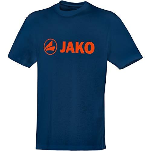 JAKO Kinder T-Shirt Promo, nightblue/flame, 164, 6163