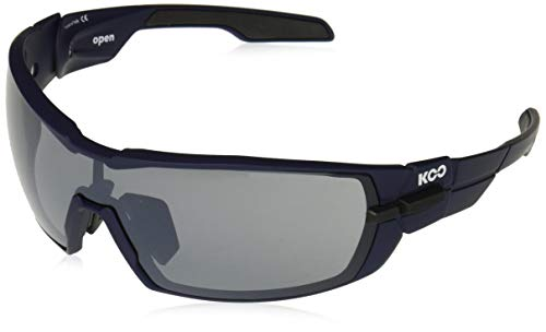 Kask Koo Open Blue Matte with Smoke Mirror Lenses Sunglasses