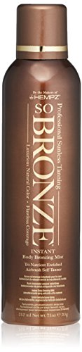 Hempz So Bronze Sunless Airbrush Tanning Spray, Brown, 7.5 Fluid Ounce