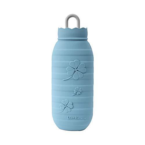 Honeypot Lucky - Bolsa de agua caliente (silicona, 600 ml), color azul