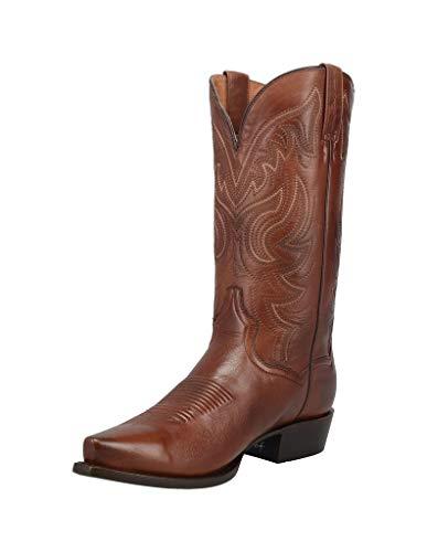 Dan Post Men's Wind River Western Boot Snip Toe Rust Copper 11 EE