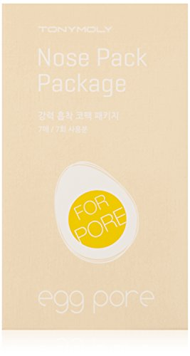 TONYMOLY Egg Pore Nose Pack Package Sheets