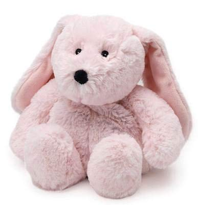 Intelex Pink Bunny WARMIES Cozy Plush Heatable Lavender Scented Stuffed Animal