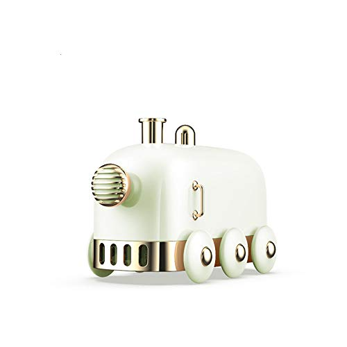 Humidificadores Difusor Aceites Esenciales Humidificador De Aire Encantador De 300Ml Mini Tren Difusores De Aromaterapia Esenciales para Coche De Oficina USB Mist Maker Purificador De Aire Lightg