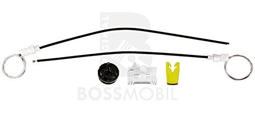 Original Bossmobil Clio 2 (BB0/1/2, CB0/1/2_), Kasten (SB0/1/2_),Vorne Links, Fensterheber-Reparatursatz