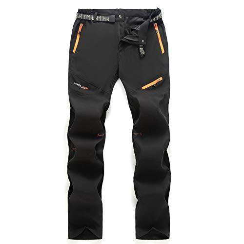 Freiesoldaten pour des Hommes Extérieur Pantalons de Randonnée Hydrofuge Respirant Séchage Rapide Escalade Pantalons de Cyclisme