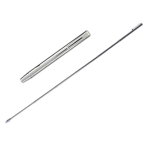 Pocket Pointer with Clip Extends to 50cm Length Hand Pointer Extendable Telescopic Retractable Pointer Handheld Presenter Classroom Whiteboard Pointer