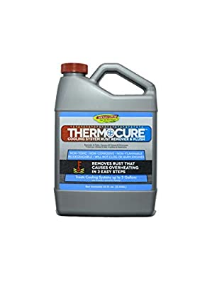Thermocure Coolant System Rust Remover, Safely Removes the Rust from Cars Cooling System, 32 oz Bottle