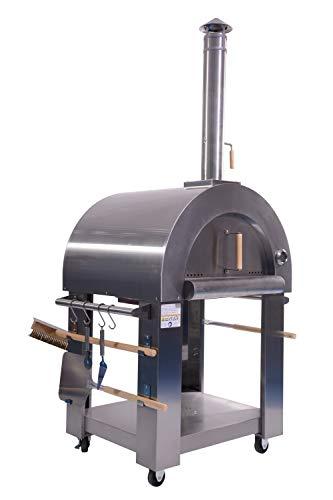 FireKING Edelstahl Pizzaofen Roma