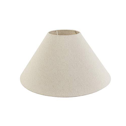 QAZQA Lampenkap 50/17,5/25 beige, Cilinder