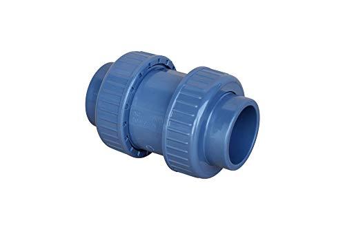 altone PD-01510 50mm PVC Rückschlagklappe, grau