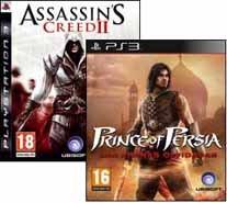 Pack Assassins Creed 2 + Prince of Persia Arenas Olvidadas