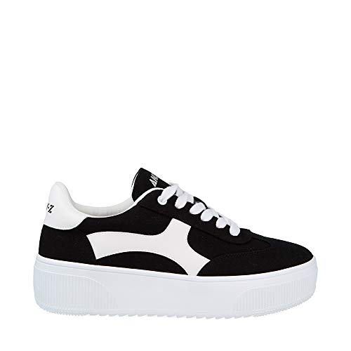 Andy-Z Wedge Platform Sportschuhe Wedge Sneakers Damen