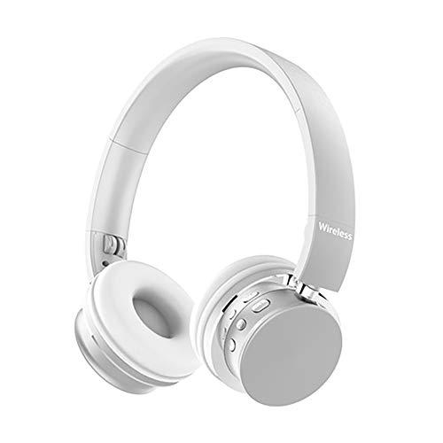 QLMY met microfoon Motion Wireless Over Ear Headphones comfortabele eiwitoorkussens lichtgewicht ca. 20 sterren afspeeltijd geschikt voor vliegtuigwerkzaamheden computer