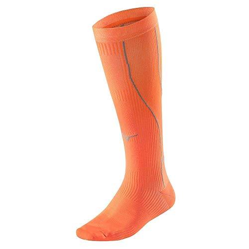 Mizuno Calcetines de compresión Biogear - Hombre - Naranja - Talla EU 38-40