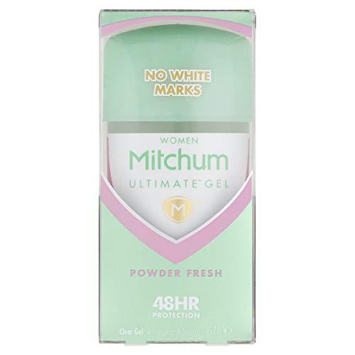 Mitchum Ultimate 48HR - Gel transparente antitranspirante y desodorante para mujer, 57 g