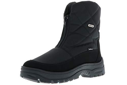 Vista Damen Snowboots Winterstiefel EISKRALLEN schwarz, Größe:38;Farbe:Schwarz