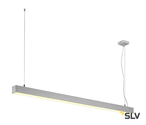 Q-LINE LED SIMPLE, suspension, 1500mm, gris argent
