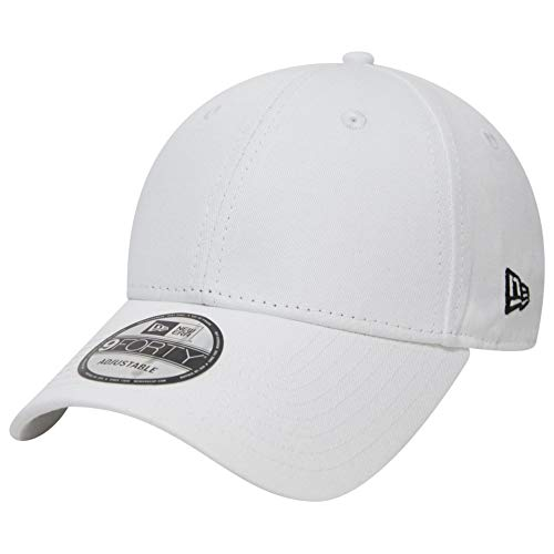 New Era 9Forty Adjustable Cap - NE Flag Blanc