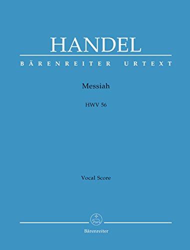 GEORG FRIEDRICH HANDEL : MESSIAH HWV 56 (CHANT PIANO)