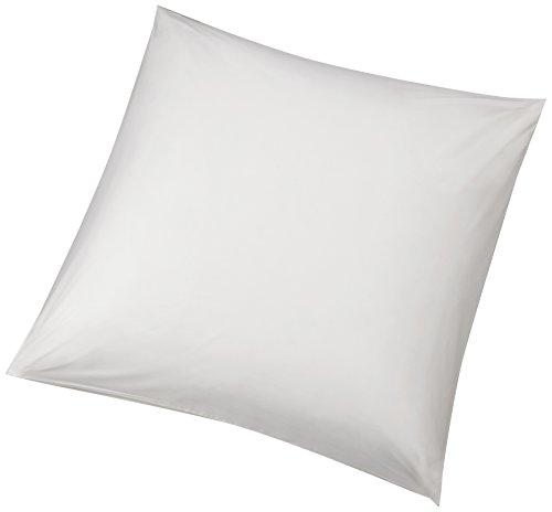 AmazonBasics - Hypoallergener Kissenbezug, Weiß, 65 x 65 cm, 2er Pack