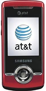 Samsung A777 Unlocked Phone with 3G Support, 1.3MP Camera, Bluetooth and GPS - US Warranty - Red