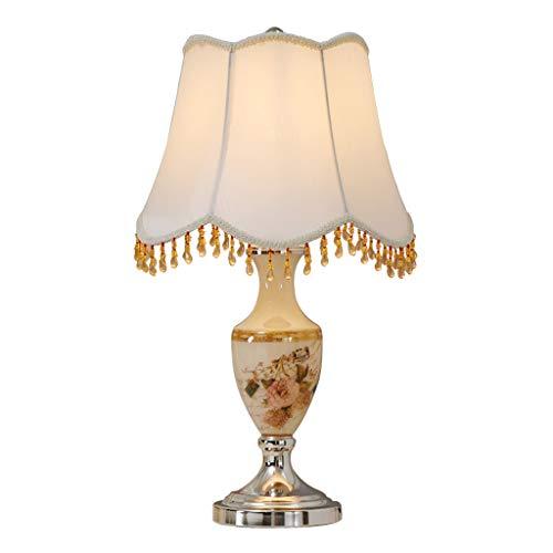 Guo Shop- Lampe de table européenne chevet chambre américaine moderne simple créatif