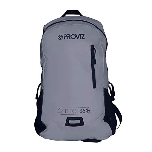 Proviz Sports Reflect360 100% Reflective High-Viz Highly Water Resistant Backpack/Rucksack,...