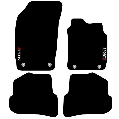 Carsio Tailored Carpet Car Floor Mats FOR A1 2010+ onwards