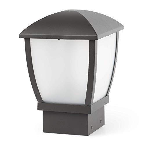 FARO - WILMA Lampada sopra muro grigio scuro