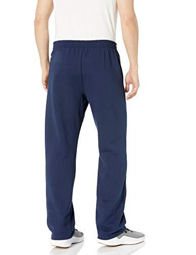 Fruit of the Loom Men's Fleece Sweatpants, Navy, Medium