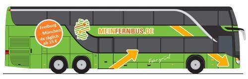 MiNIs (by Lemke) LC4471 Setra 431 DT Flixbus Mein Fernbus
