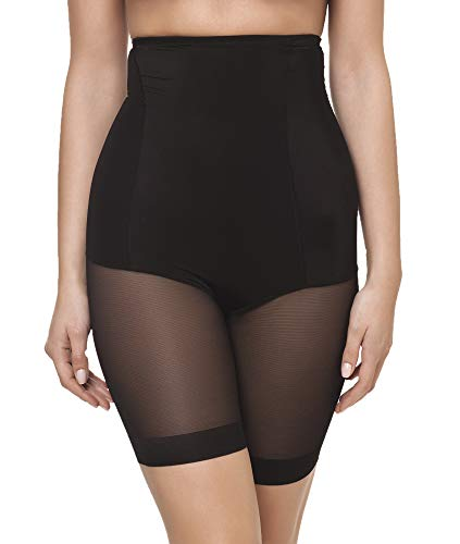 Channo Faja pantalón Alta Ligera Invisible Mujer Licra (Negro, S)