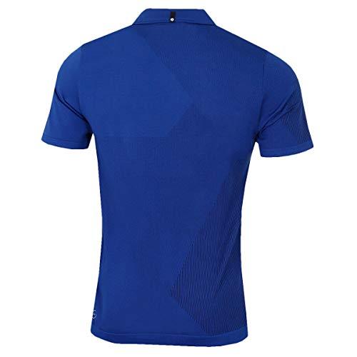 PUMA Golf Men's Evoknit Dassler Polo Shirt - XL - Sodalite Blue