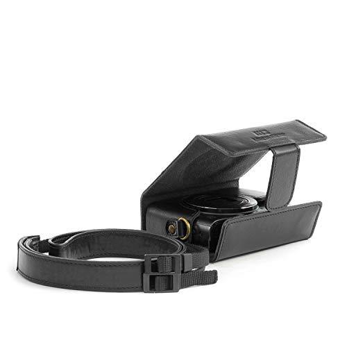 MegaGear MG819 Estuche para cámara fotográfica Maleta rígida Negro - Funda (Maleta rígida, Canon, PowerShot SX620 HS, Negro)