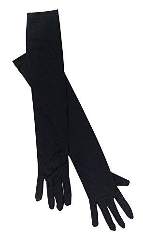 Bristol novità BA143flapper lunghi guanti, da donna, taglia unica, colore: Nero