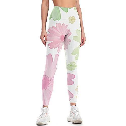 QTJY Pantaloni da Yoga per Sollevamento dell'anca a Vita Alta da Donna Pantaloni da Ginnastica Push-up da Palestra Leggings Elasticizzati in Cellulite Pantaloni da Jogging D M