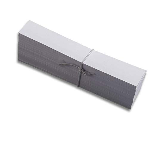 MAYSPIES Duftstreifen - Format 15 x 125 mm, Weiß, 250g/qm, 5000 Stück/Packung