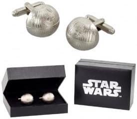 Star Wars Death Star Cufflinks Chrome product image