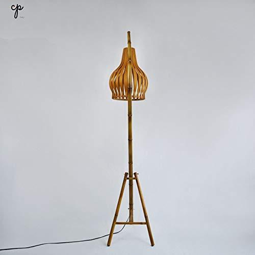 Creatieve vloerlamp woonkamer open haard gang hoek lamp decoratie bamboe kamer slaapkamer decoratie stereo 46 * 45 * 180 cm