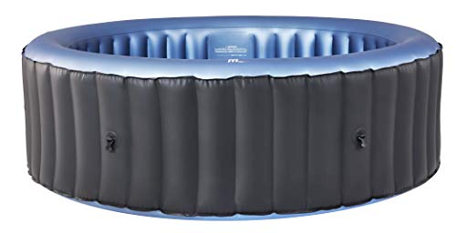 MSpa C-BE061 Bergen (2021 Model) 6 Person 4+2 Portable Round Hot Tub Bubble Spa Inflatable