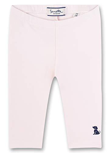 Sanetta Baby-Mädchen Fiftyseven Leggings, Rosa (Rosa 3075), 62 (Herstellergröße: 062)