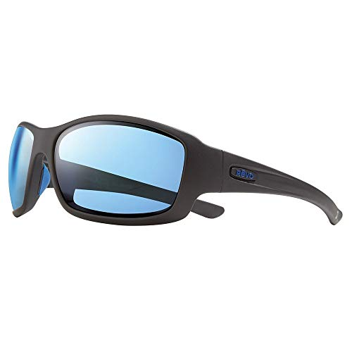 Revo Women's Maverick X Bear Grylls: Polarized Lens Filters Uv, Rectangle Wrap Frame Sunglasses